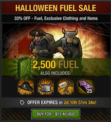 Tlsdz Halloween Fuel Sale 2500