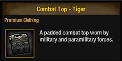 Combat top-tiger