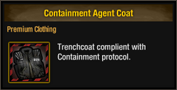 Containment Agent Coat