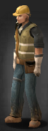Engineer wearing the Hard Hat