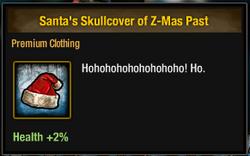 Tlsdz santa's skullcover of z-mas past