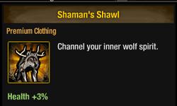 Tlsdz Shaman's Shawl