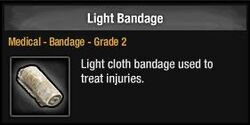 Light Bandage