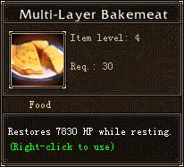Multi-Layer Bakemeat