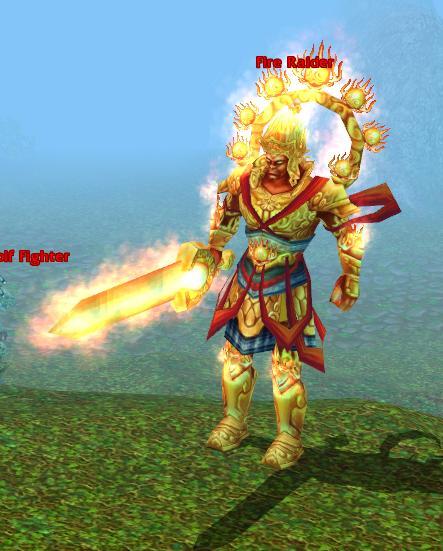 Fire raider