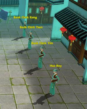 Bank Clerks at Su Zhou Bank