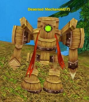 Deserted Mechanoid