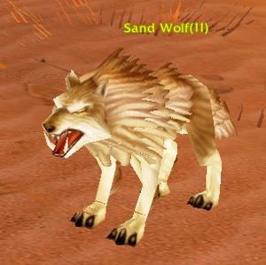 Sand Wolf