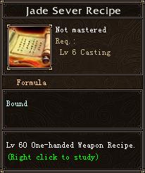 Jade Sever Recipe