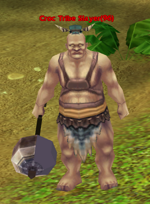 Croc Tribe Slayer