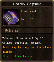 Lordly Capsule