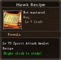 Hawk Recipe