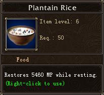 Plantain Rice