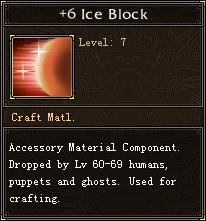 6 Ice Block