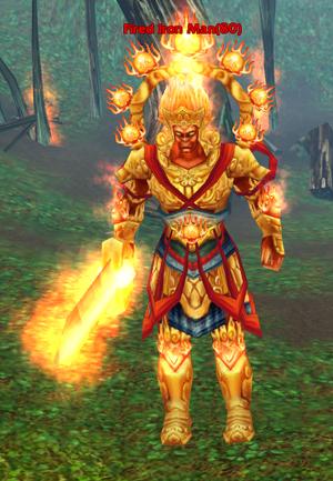 Fire Iron Man