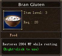 Bran Gluten