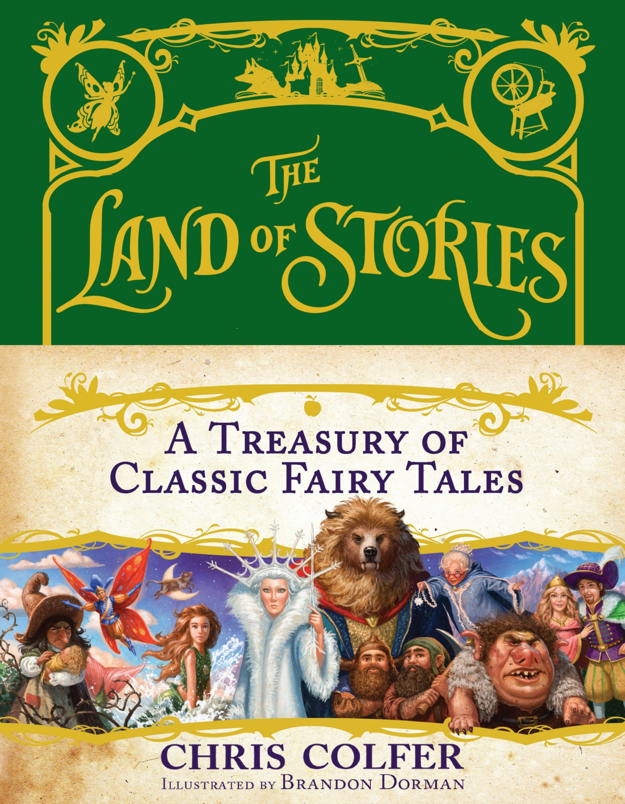 A Treasury of Classic Fairy Tales | The Land Of Stories Wiki ...