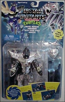 Shredder 1995 Metal Mutant figure