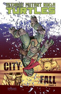TMNT City Fall tpb