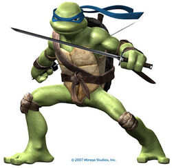 Leonardo teenage mutant ninja turtles 2007