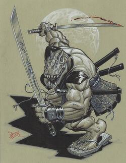 Choate Samurai Dino TMNT by doonboy