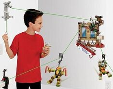 Nickelodeon-teenage-mutant-ninja-turtles-z-line-ninjas-playset-window-wipeout-new-5