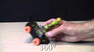 Sewer Spinnin' Skateboard Instructional Video