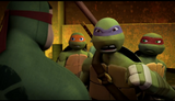Mikey, Don and Raph