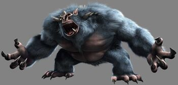 Bigfoot monster - 2007 TMNT film
