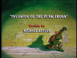 Invasion of the Punk Frogs 1