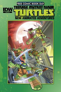 Tmnt new animated adventurez