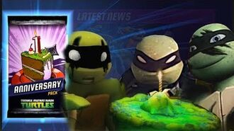 NINJA TURTLES ANNIVERSARY. TMNT Legends gameplay and animation 393