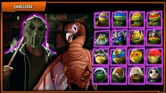 TMNT Legends Casey Jones (Movie) and All TMNT VS Chimera. Teenage Mutant Ninja Turtles Android iOS