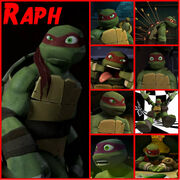 Tmnt raph collage 2 by culinary alchemist-d62mr6s