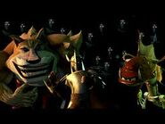 Teenage Mutant Ninja Turtles 2012 Fishface, Dogpound, and The Shredder