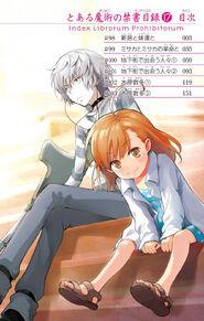 Toaru Majutsu no Index Manga v17 Table of Contents