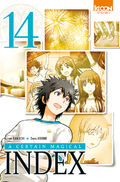 A Certain Magical Index Manga v14 French cover