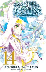 Toaru Majutsu no Index Manga v14 Title Page