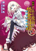Shinyaku Toaru Majutsu no Index Light Novel v02 cover