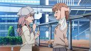 Meigo Arisa and Misaka Mikoto