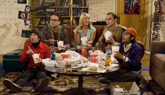 The-Big-Bang-Theory Pilot Nerds-w-Penny