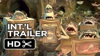The Boxtrolls International TRAILER (2014) - Stop-Motion Animation Movie HD