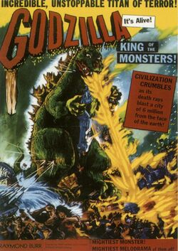 Godzilla King of the Monsters 1956