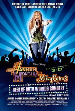 Hannah Montana & Miley Cyrus Concert2008