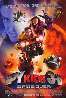 Spy Kids 3-D Game Over