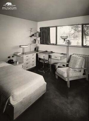 TB Sanitarium patient room 77-13