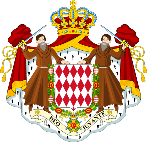 File:Coat of Arms of Monaco.png