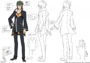 Touji Male Uniform Design
