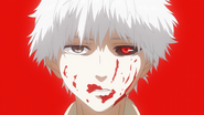 Kaneki accepting being a ghoul