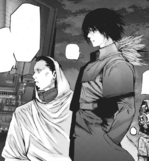 Banjou and Ayato about to attack Cochlea